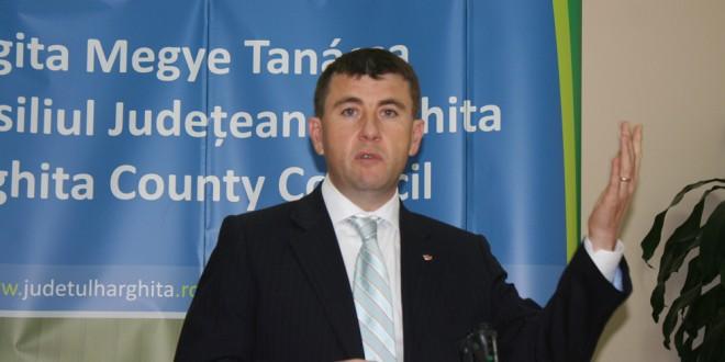 Borboly Csaba, apel către mai multe localităţi să adere la ADI Harghita Víz, pentru accesarea fondurilor europene