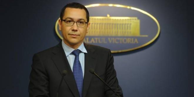 Ponta: Sper ca liberalii să nu sacrifice USL pentru un proiect personal al domnului Antonescu