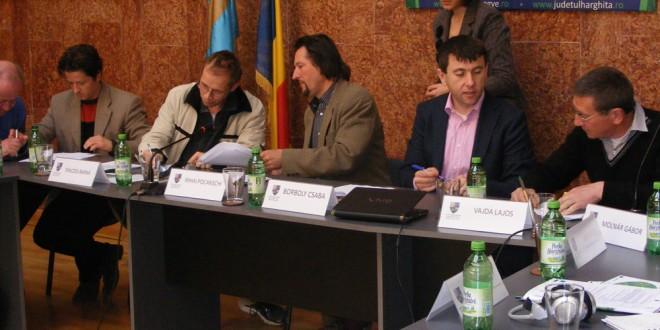 """Workshop regional """"Clustere şi Cercetare în Industria Lemnului, în sprijinul IMM-urilor"""", la Miercurea-Ciuc"""