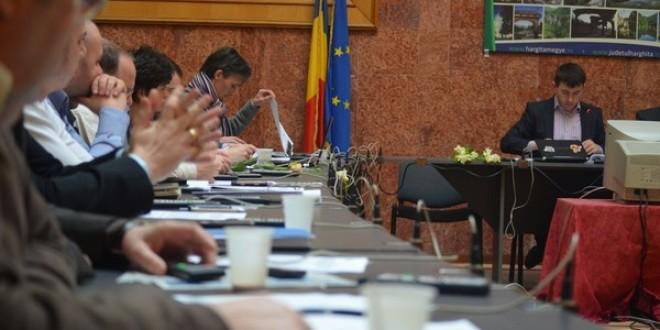 Şedinţa extraordinară a Consiliului Judeţean Harghita: 2,4 milioane lei pentru Spitalul Județean