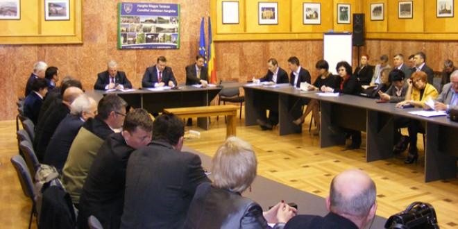 Şedinţa Colegiului Prefectural: Despre Direcţia Judeţeană pentru Cultură Harghita şi activitatea pe anul 2013