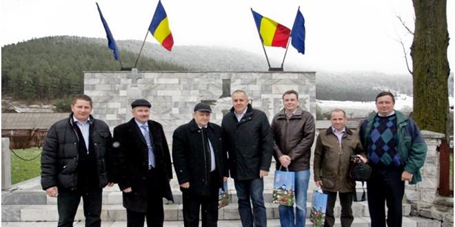 """""""Înfrăţire între localităţi în spiritul Anului European al Cetăţenilor"""": Voşlăbeni, România – Auersthal, Austria"""