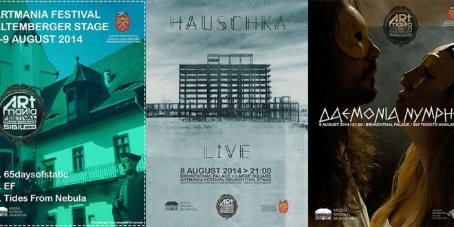 Trei concerte de înaltă ținută la ARTmania Festival Sibiu pe scenele Brukenthal și Altemberger