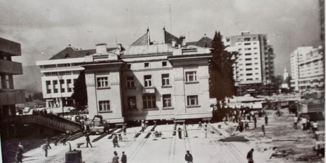 30 de ani de la translaţia clădirii BNR din Miercurea-Ciuc