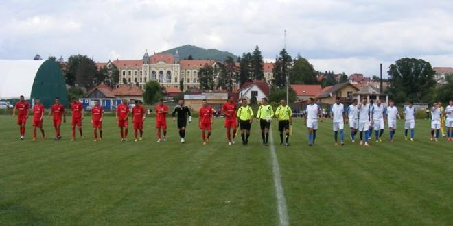 FOTBAL: FC Miercurea-Ciuc a pierdut primul meci oficial