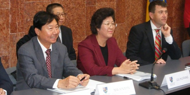 Delegaţie din China – în Harghita pentru a documenta dezvoltarea agriculturii din judeţ