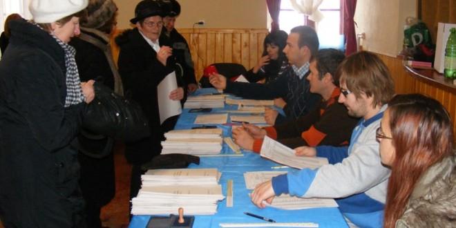 Au fost delimitate şi numerotate secţiile de votare