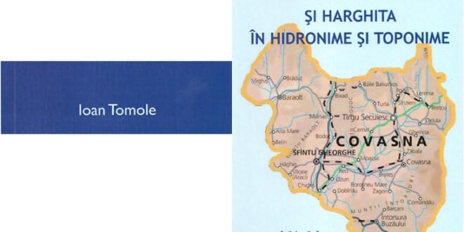 """Lucrarea ,,Românii din Covasna şi Harghita în hidronime şi toponime"""""""