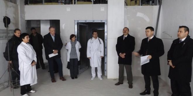 S-au reluat lucrările la Spitalul Judeţean de Urgenţă Miercurea-Ciuc