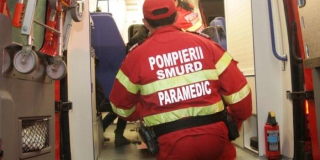 Accident rutier în apropiere de Miercurea Ciuc cu 5 victime, din care una încarcerată