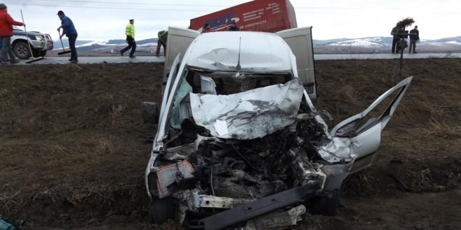 Accident rutier mortal în apropiere de Miercurea-Ciuc
