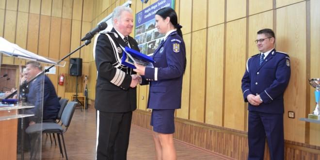 Poliţistul anului în Harghita este scms. de poliţie Magyari Loredana