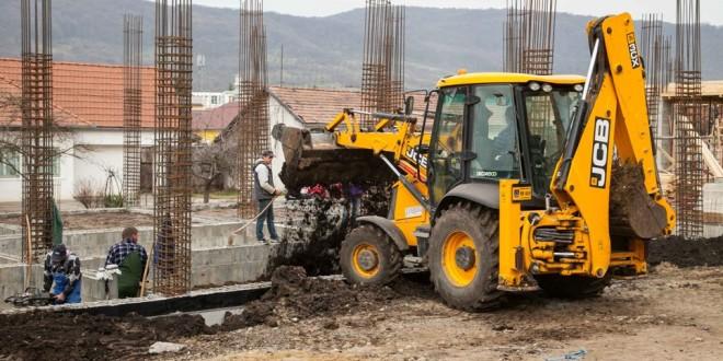 Odorheiu-Secuiesc: Lucrările de construcţie a Harghita Business Center decurg conform planului