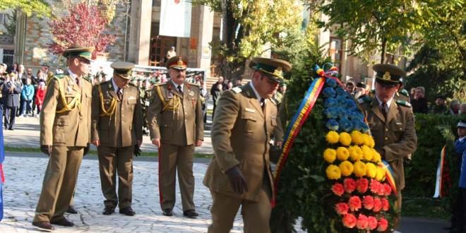 Ziua Armatei României, sărbătorită în municipiul Miercurea-Ciuc
