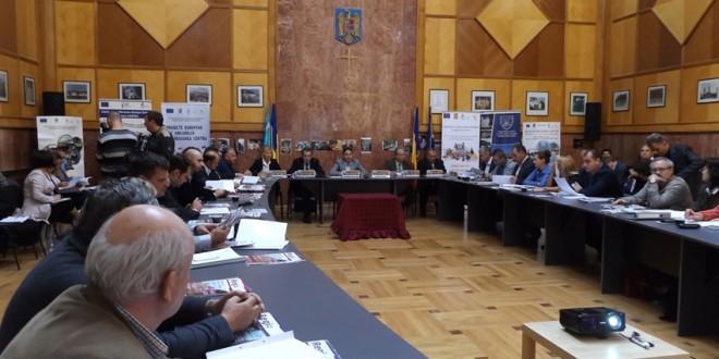 Şedinţa Consiliului pentru Dezvoltare Regională Centru a fost găzduită de Miercurea-Ciuc