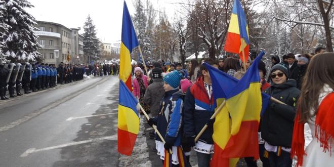 Miercurea-Ciuc: Programul manifestărilor dedicate ZILEI NAŢIONALE A ROMÂNIEI, 1 Decembrie 2015