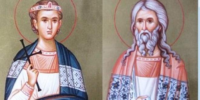 Sf. Mucenici Ermil şi Stratonic  (13 ianuarie)