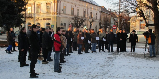 Gheorgheni: Un miting de familie