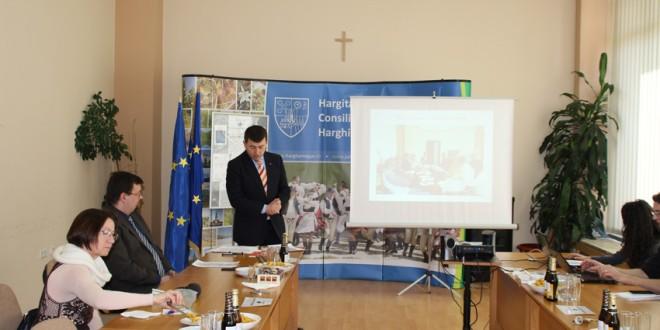 Preşedintele Consiliului Judeţean şi-a prezentat o parte din activitatea sa din cadrul Comitetului Regiunilor