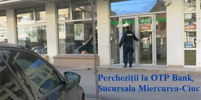 Percheziţii în patru judeţe, printre care şi Harghita, la persoane suspecte de fraudarea fondurilor europene