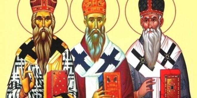 Sfinţii ierarhi Iorest, Ștefan și Brancovici