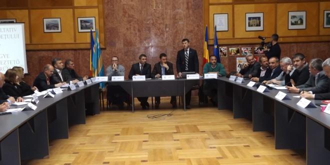Prima şedinţă a Consiliului Consultativ Economic al judeţului Harghita
