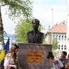 """Moment important la Şcoala Gimnazială """"Liviu Rebreanu"""": Bustul patronului spiritual a fost dezvelit cu ocazia marcării a 20 de ani de la reînfiinţarea ASTRA Covasna-Harghita"""