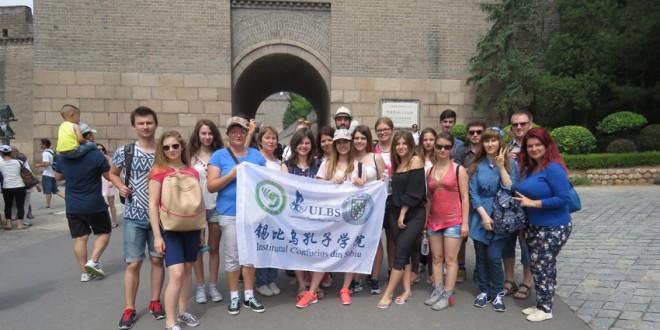 Elevi harghiteni, în tabăra de vară din China