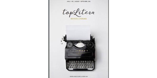 """""""topLitera"""" – prima revistă literară din Topliţa"""
