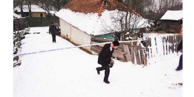Suspectul oribilei crime de la Mereşti, identificat în persoana unui minor