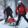 Peste 50 de intervenţii ale salvamontiştilor în perioada sărbătorilor, majoritatea la accidente pe pârtiile de schi