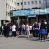 Protest spontan la Finanţele Publice. Şi harghitenii s-au alăturat protestului naţional