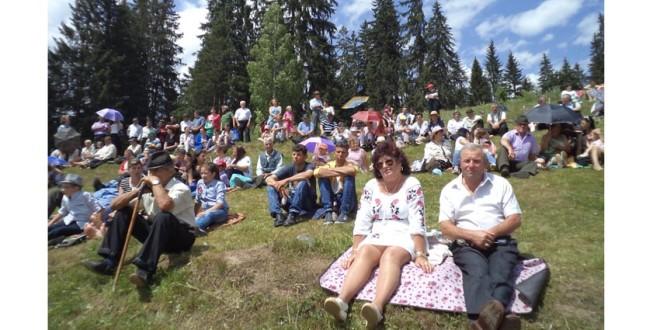 Dumitru Fărcaş i-a încântat pe bilboreni de ziua comunei