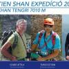 Alpiniştii din Covasna şi Harghita, plecaţi în expediţia Tien Shan 2017, au atins Vârful Chapaev