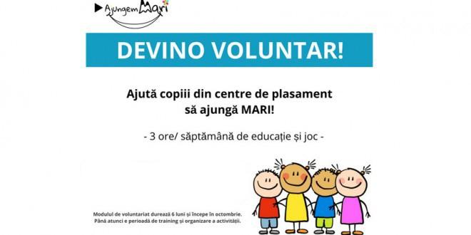 Înainte de vacanţă, înscrie-te la voluntariat pentru copiii din centrele de plasament!