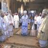 Şase arhierei au slujit la Catedrala Episcopală din Miercurea-Ciuc
