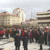 Ieri, în Miercurea-Ciuc: Amplu exerciţiu de alarmare publică: aproximativ 2.200 de persoane au fost evacuate din patru instituţii publice