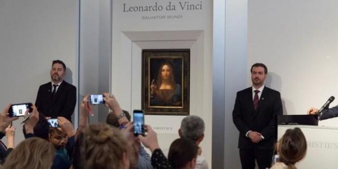 """Capodopera renascentistă """"Salvator Mundi"""" – un nou record pe piaţa de artă"""