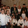 """Însemnele tricolore confecţionate de Grupul """"Şezătoare la Miercurea-Ciuc"""" vor ajunge în acest an şi la românii din afara graniţelor"""