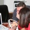 Ecograf portabil, donat Serviciului de Ambulanţă Judeţean Harghita de către o clinică privată