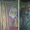Un portret al Regelui Mihai, pictat în biserica din Scheii Braşovului, a supravieţuit perioadei comuniste