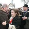 """Ambasadorii SUA, Marii Britanii, Belgiei şi Ungariei, la carnavalul care a """"îngropat"""" iarna, la Sânsimion"""