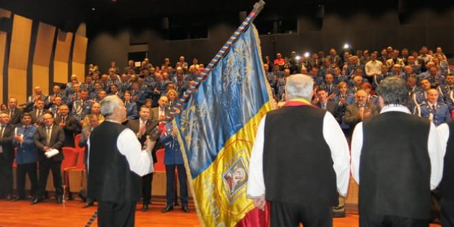 """De Ziua Jandarmeriei Române, la Miercurea Ciuc: Şedinţă festivă şi manifestarea """"Caravana Unirii"""""""