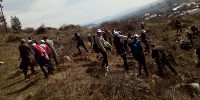 Voluntariat la Topliţa, desfăşurat în cadrul proiectului naţional 4/4PentruPrieteni