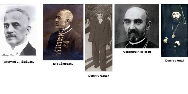 Personalităţi harghitene implicate în înfăptuirea Marii Uniri