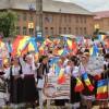 Ambasadorii limbii şi culturii române, la tradiţionalul Festival folcloric al copiilor de la Sărmaş