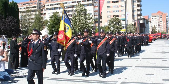 Astăzi: Ziua Pompierilor din România, marcată la Gheorgheni