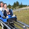 Inedita pistă de bob de la Lunca de Sus face furori printre turişti