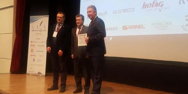 Premiu de excelenţă pentru Inspectoratul Şcolar Judeţean Harghita, la Gala EduManager.ro