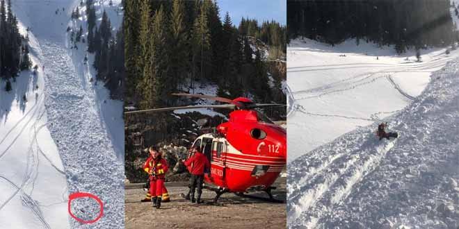 Un bărbat din Miercurea Ciuc decedat şi alţi doi răniţi, după ce au fost surprinşi de o avalanşă în Munţii Călimani